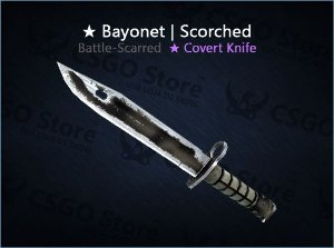 ★ Bayonet   Scorched (Battle-Scarred)