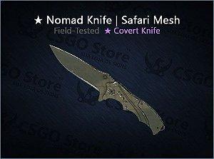 ★ Nomad Knife | Safari Mesh (Field-Tested)