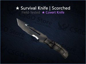 ★ Survival Knife | Scorched (Field-Tested)