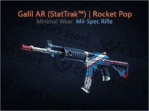 Galil AR (StatTrak™) | Rocket Pop (Minimal Wear)