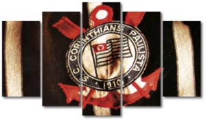 CORINTHIANS - 5 telas Canvas