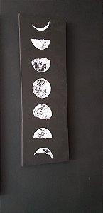 Fases da lua - TELA CANVAS