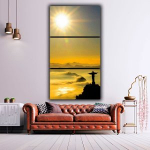 Cristo Redentor - 3 Canvas