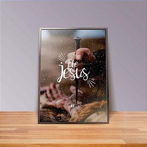 O amor de Jesus - Emoldurado