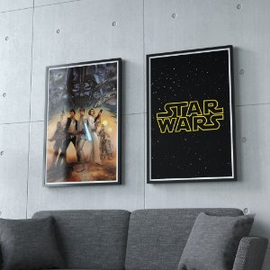 Star wars - KIT 2 QUADROS