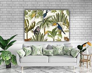 Arte animais - Tela Canvas