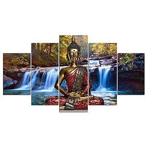 Buddha  - 5 Telas Canvas