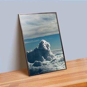 Nuvem - Emoldurado