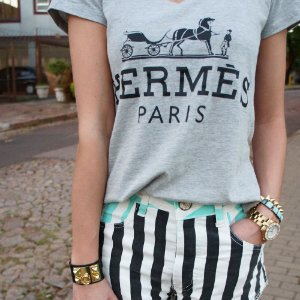 T-shirt Hermes Paris