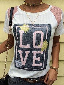 T-shirt LOVE de Paete