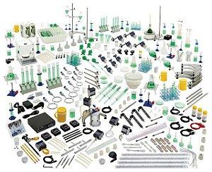 Conjunto de Química Inorgânica com Sensores e Interface para 4 grupos