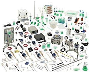 Conjunto Química Orgânica e Físico Química com Sensores e Interface, para 4 Grupos