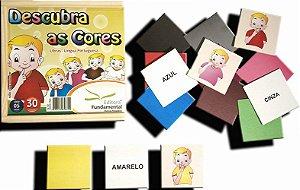 Descubra as cores em Libras
