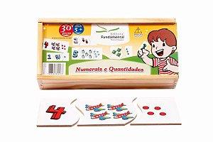 Numerais e Quantidades em MDF - 30 peças