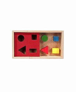Passa Figuras - Caixa com 4 peças