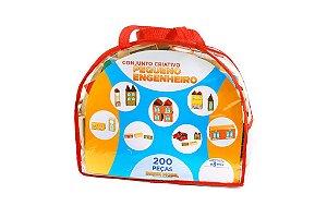 Sacolão Pequeno Engenheiro em Madeira - 200 peças