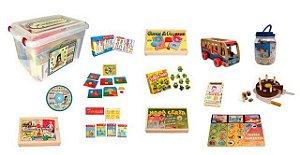 Kit Conduta Afetiva - 12 Jogos Educativos + CD