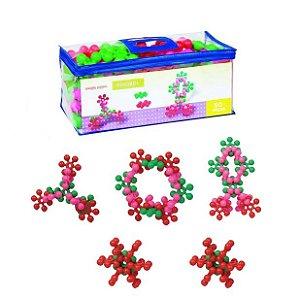 Sacolão Super Pinobol em Plástico - 50 peças