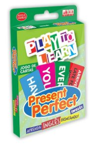 Jogo de Cartas Play to Learn - Present Perfect