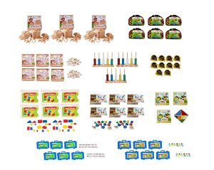 Kit Matemática - 55 itens