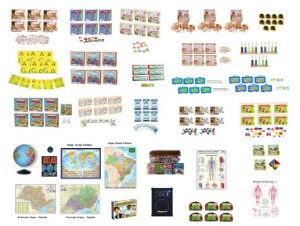 Kit Orientação de Estudos e Leitura - 162 itens