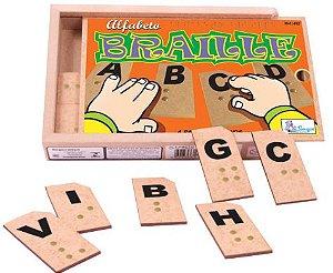 Alfabeto Braille - 27 peças