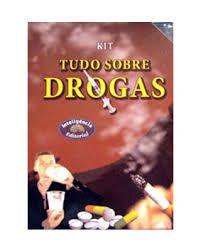 KIt Tudo Sobre Drogas - 5 DVDs + 1 Livro