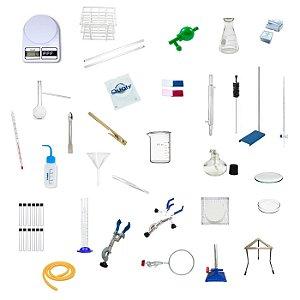 Laboratório básico para Ensino Fundamental - 46 peças