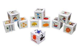Cubos Educativos em PVC  - 10 peças