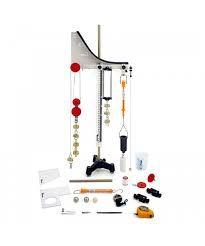 kit de Física - Mecânica dos Sólidos com Rampa para Lançamentos