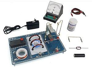 Kit de Física - Conjunto de Eletromagnetismo - Básico