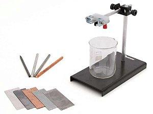 Kit de Física - Conjunto para estudo da Eletrólise