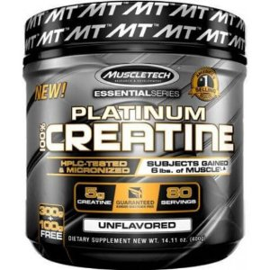 PLATINUM 100% CREATINA MICRONIZED (400G) MUSCLETECH