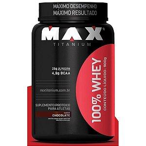 100% WHEY Pote - Max Titanium - 900g