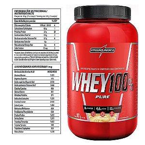 Whey 100% Pure - integralmedica - Pote 907g