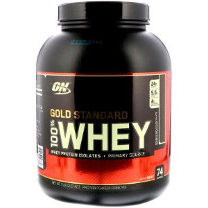 Gold Standard 100% Whey protein (2,3kg) 5lbs wpi Isolado - ON Optimum Nutrition