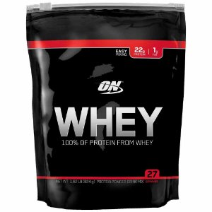 Refil Whey 100% - Optimum Nutrition - 837g