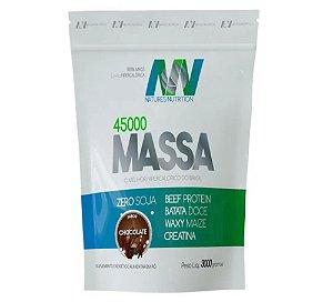 Hipercalórico Massa 45000 - Natures Nutrition (3Kg)