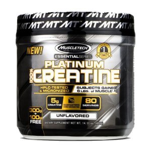 PLATINUM 100% CREATINE - MuscleTech - 400g