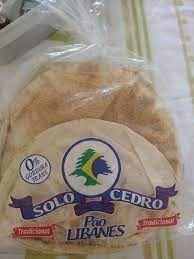 PAO LIBANES SIRIO MEDIO TRADICIONAL 680G SOLO CEDRO