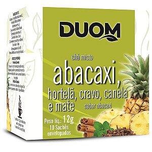 CHA DE ABACAXI  CRAVO  CANELA E MATE DUOM 10G