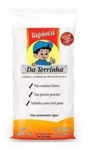 GOMA PRONTA PARA TAPIOCA DA TERRINHA 1KG