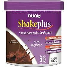 SHAKEPLUS SABOR CHOCOLATE BELGA 300G DUOM