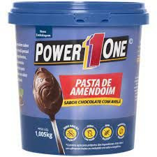 PASTA DE AMENDOIM CHOCOLATE COM AVELA 1KG POWER ONE
