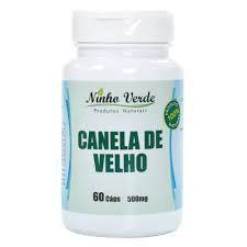 CANELA DE VELHO 500 MG 60 CAPSULAS NINHO VERDE
