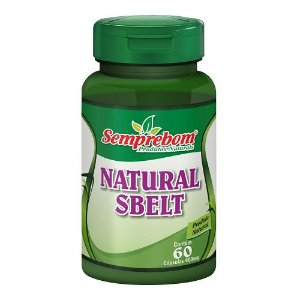 Natural Sbelt Seca Barriga - 400mg - 60 cápsulas - Semprebom (Emagrecedor)