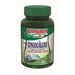 Zincocal - Zinco e Cálcio - 950mg - 90 cáps