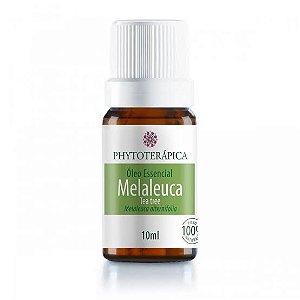 OLEO ESSENCIAL DE MELALEUCA TEA TREE 100 NATURAL   10ML PHYTOTERAPICA