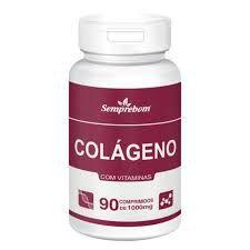 Colágeno Hidrolisado Tipo 1 c/ Vitaminas - 90 Capsulas de 1000mg