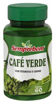 CAFE VERDE - 60 CAPSULAS 500MG SEMPREBOM